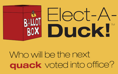 Who will be the next quack voted into… water?
