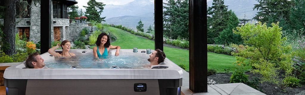 Group hot tub soaking may consume more sanitizer.