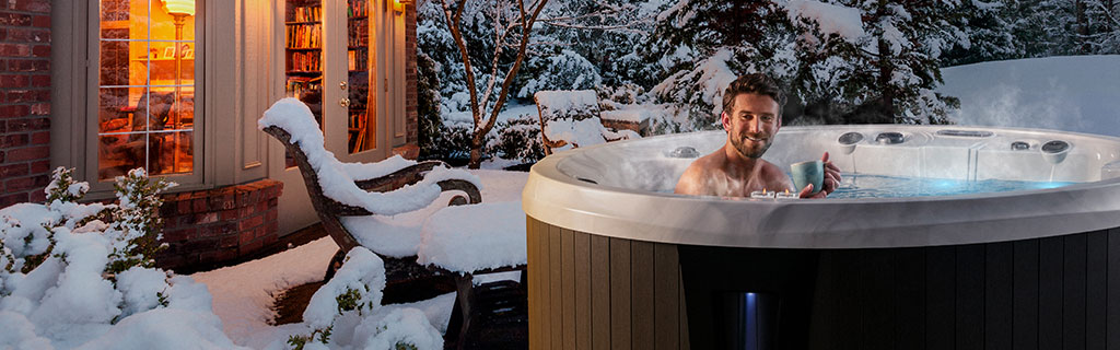 Marquis hot tubs have layers of built-in protection against freezing